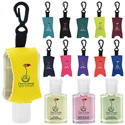 0.5 Oz. Good Value� Custom Label Hand Sanitizer w/Leash - Scented