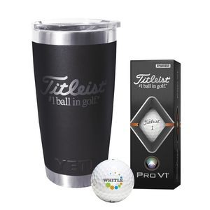 Titleist� Yeti� Tumbler w/Pro V1� Golf Ball
